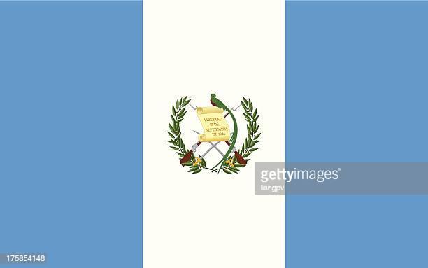 flag of guatemala - guatemala stock illustrations, clip art, cartoons, & icons