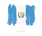 Flag of Guatemala. Vector illustration