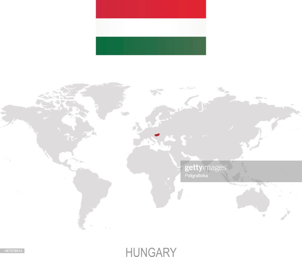 Hungary Infographic Map Illustration Vector Art Getty Images