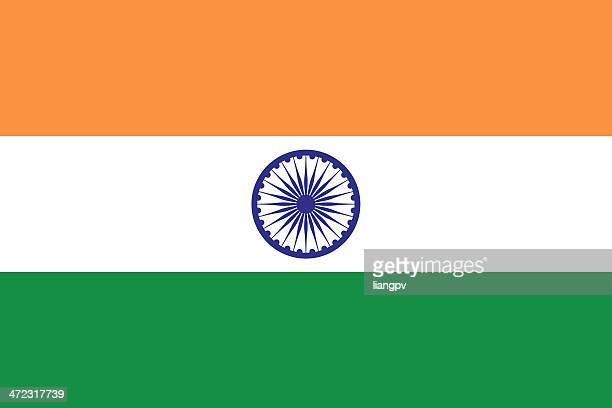flag of india - indian flag stock illustrations