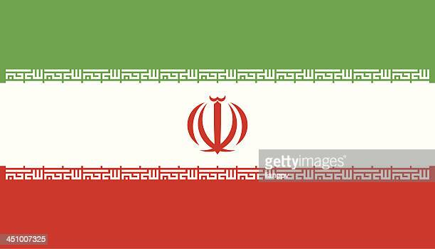 flag of iran - iranian culture stock illustrations, clip art, cartoons, & icons