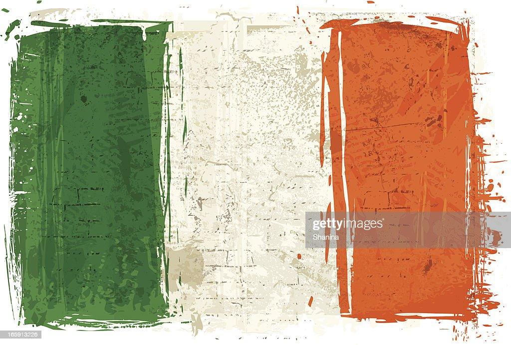 Flag of Ireland on Wall