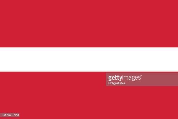 flag of latvia - latvia stock illustrations