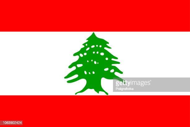 ilustraciones, imágenes clip art, dibujos animados e iconos de stock de bandera de líbano - líbano
