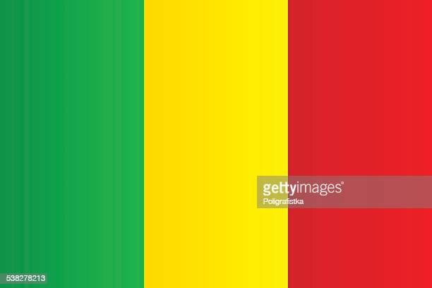 flag of mali - mali stock illustrations, clip art, cartoons, & icons