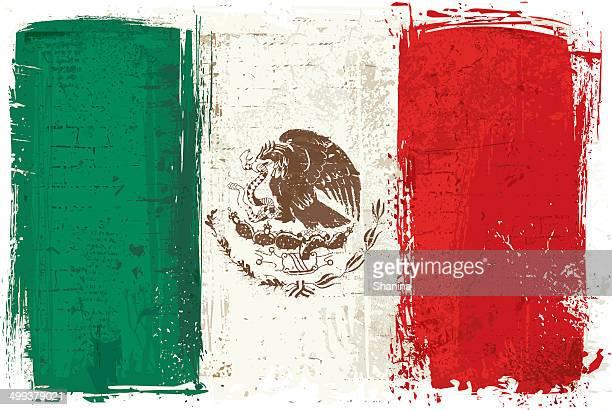 ilustrações de stock, clip art, desenhos animados e ícones de bandeira de méxico na parede - mexicano