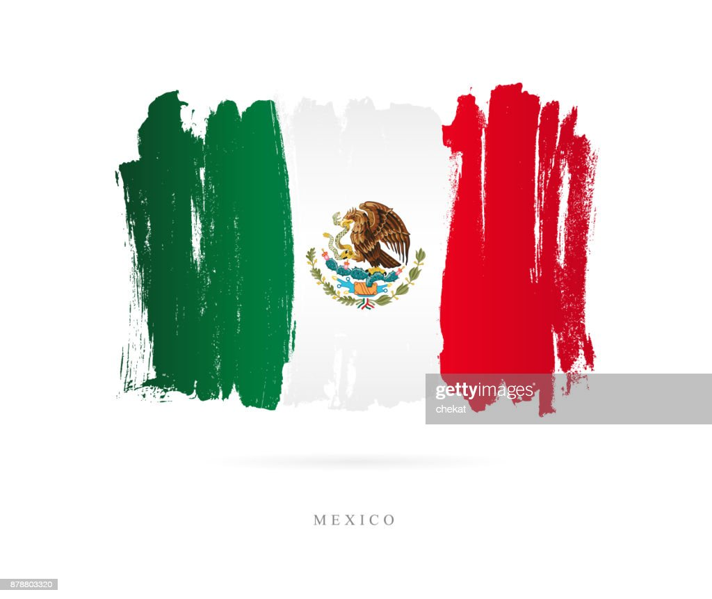 Flag of Mexico. Vector illustration