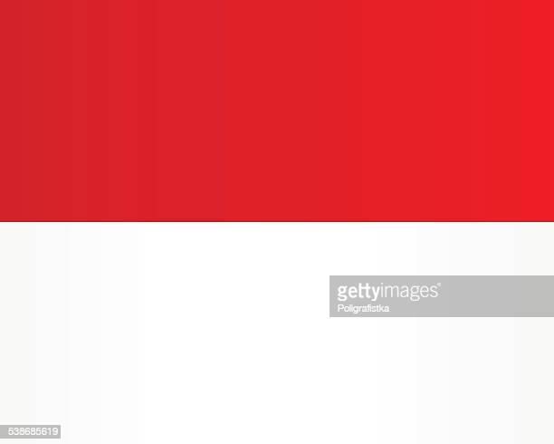 flagge von monaco - monaco stock-grafiken, -clipart, -cartoons und -symbole