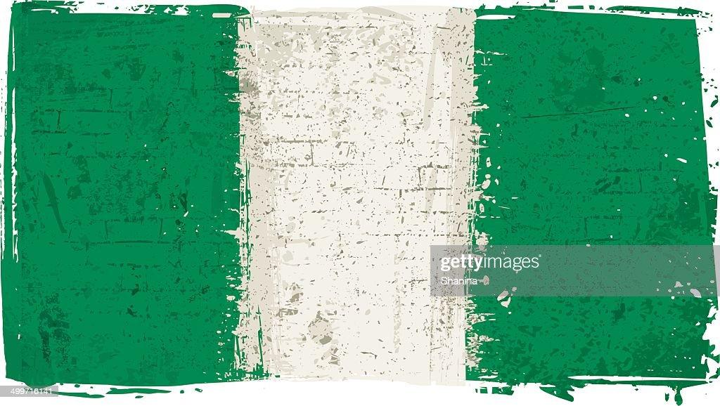 Flag of Nigeria on Wall