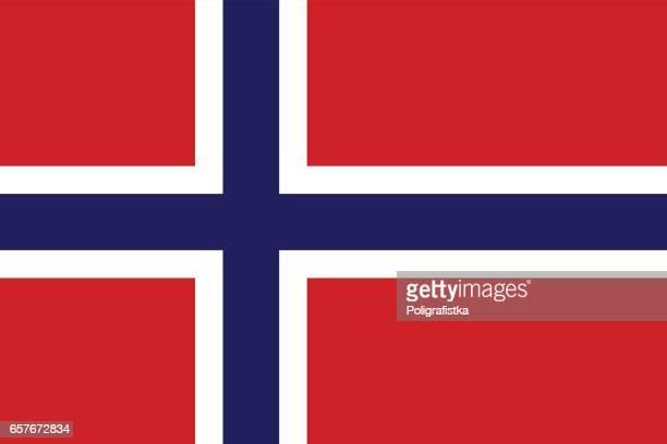 flagge von norwegen - norwegische flagge stock-grafiken, -clipart, -cartoons und -symbole