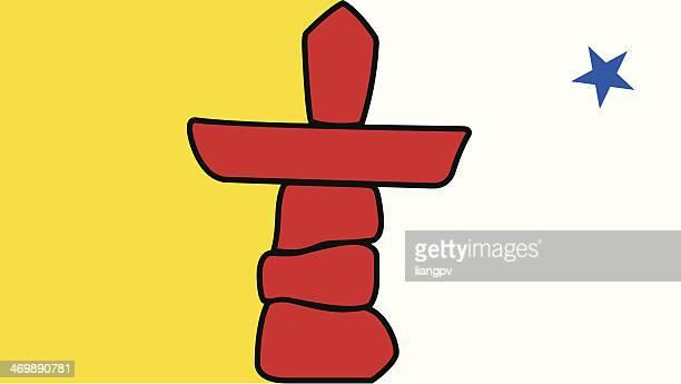 Flagge von Nunavut