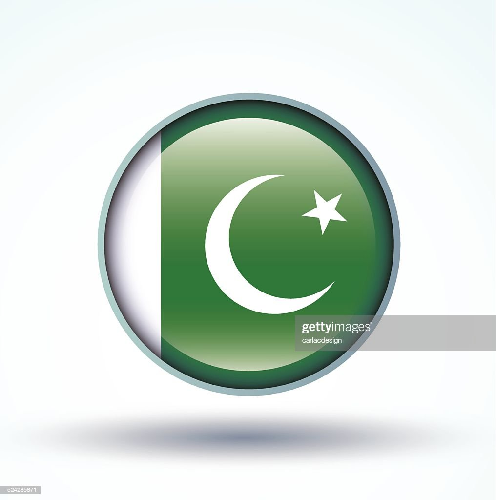 Flag of Pakistan, vector illustration