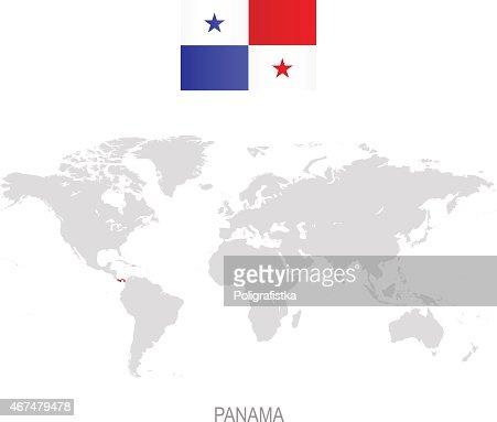 Panama World Map Panama World Map Roundtripticket Me Within - Panama map vector