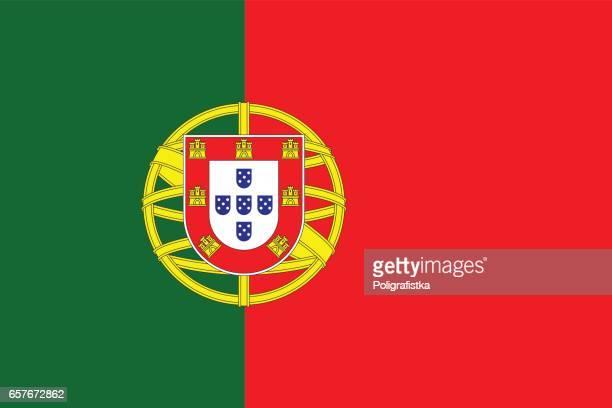 flagge von portugal  - portugal stock-grafiken, -clipart, -cartoons und -symbole