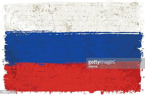 ilustrações, clipart, desenhos animados e ícones de bandeira da rússia na parede - cultura russa