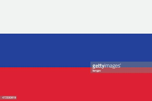 flag of russia - russia stock illustrations