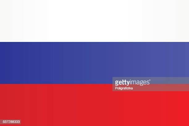 illustrazioni stock, clip art, cartoni animati e icone di tendenza di bandiera della russia - russia