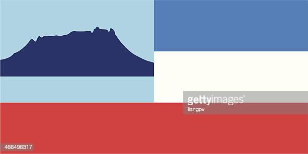 flag of sabah - sabah state stock illustrations
