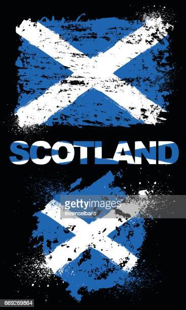 Skottland flagga
