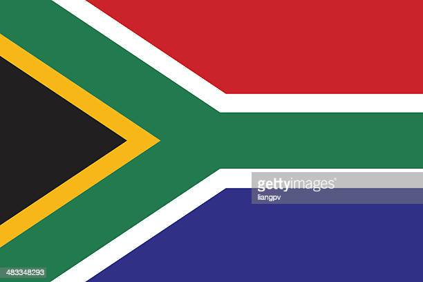 flag of south africa - south africa stock illustrations