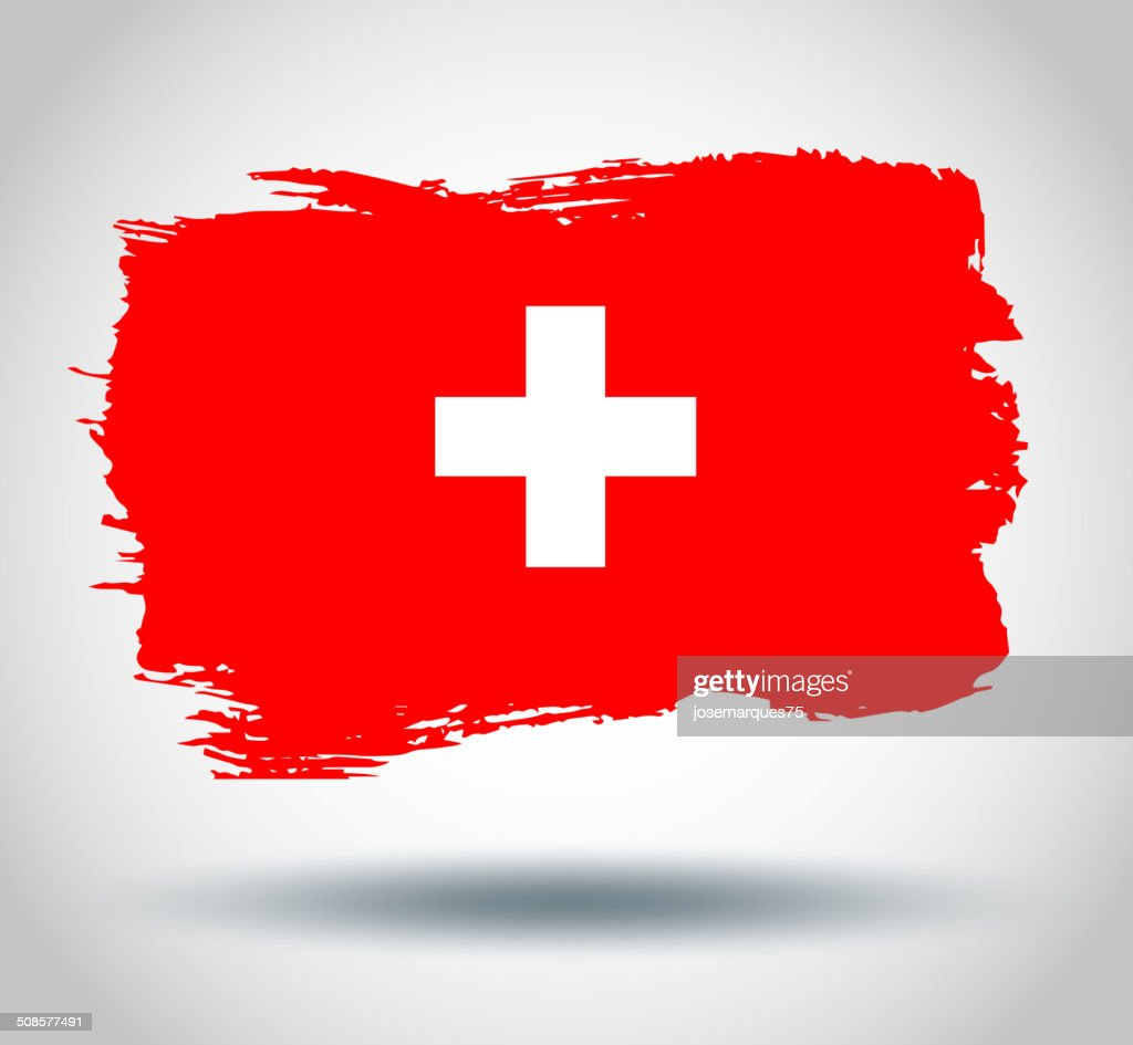 Flag of Switzerland : Vectorkunst