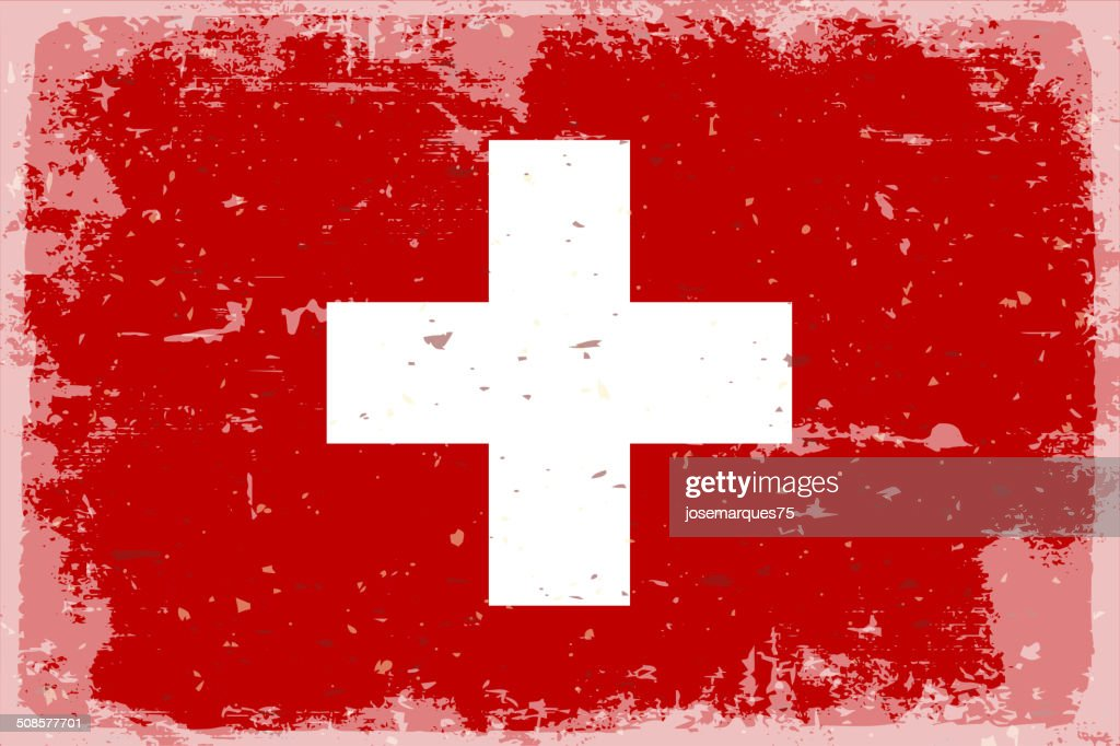 Flag of switzerland : Vector Art