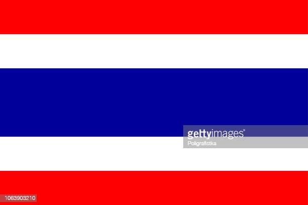 Flagge von Thailand