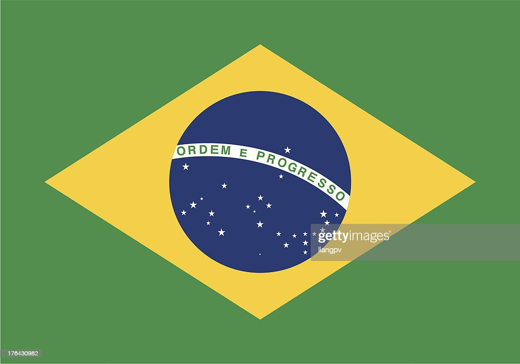 Flag of the Brazil