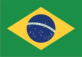 Flag of the Brazil