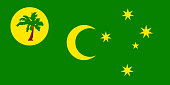 Flag of the Cocos Keeling Islands