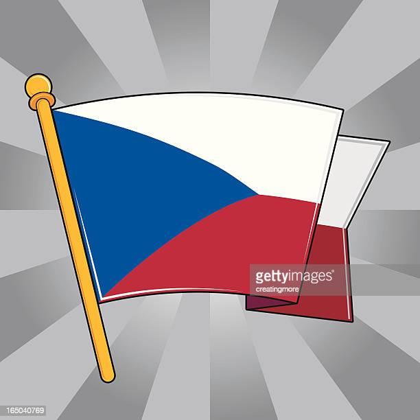 Flag of the Czech Republich