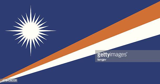 flag of the marshall islands - marshall islands stock illustrations, clip art, cartoons, & icons