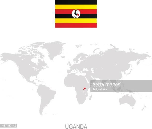 World\'s Best Uganda Flag Stock Illustrations - Getty Images
