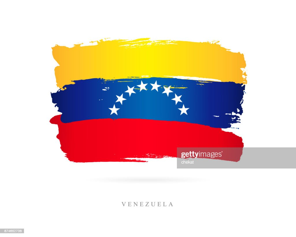 Flag of Venezuela. Vector illustration