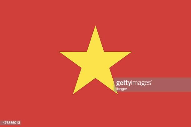 ベトナム国旗 - vietnam点のイラスト素材/クリップアート素材/マンガ素材/アイコン素材