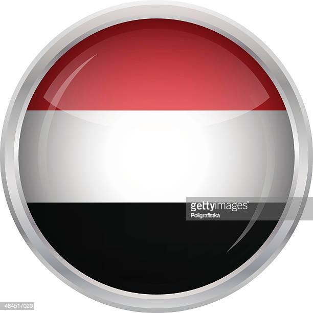 flag of yemen - yemen stock illustrations, clip art, cartoons, & icons