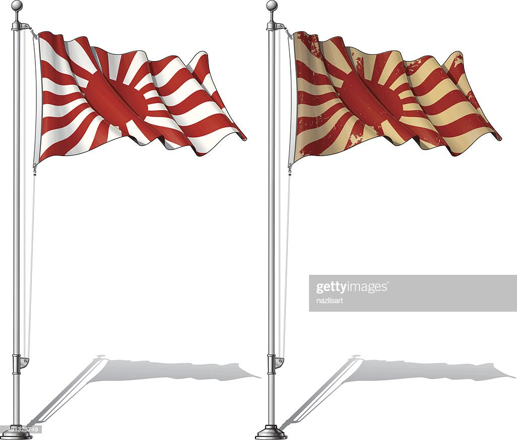 Flag Pole Japan's Emperial Navy
