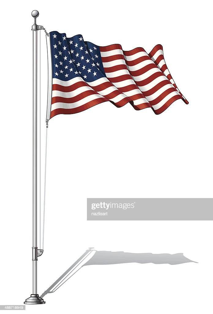 Flag Pole USA