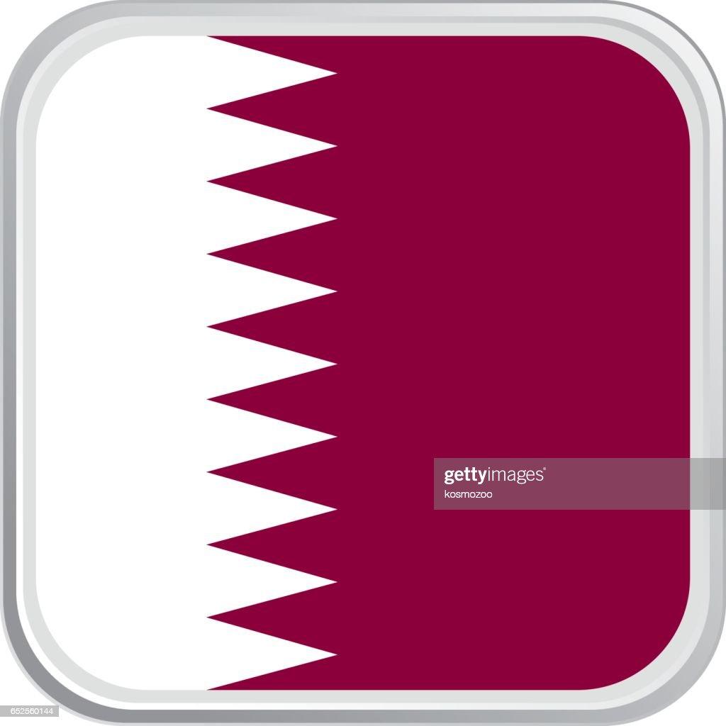 Flag Qatar : stock illustration
