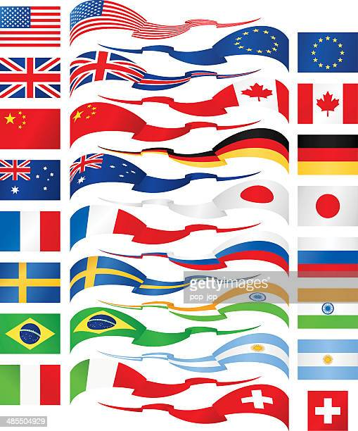 Flag ribbons - most popular