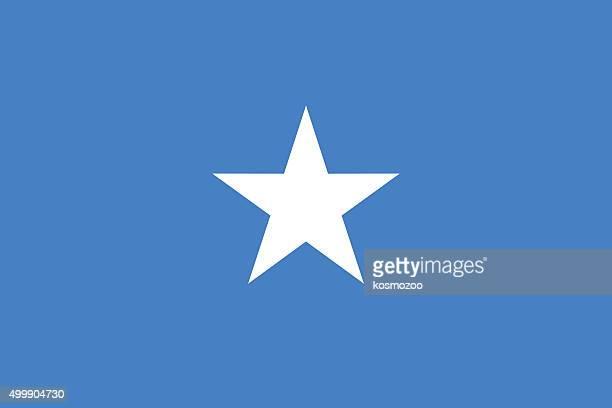 フラッグソマリア - ソマリア点のイラスト素材/クリップアート素材/マンガ素材/アイコン素材