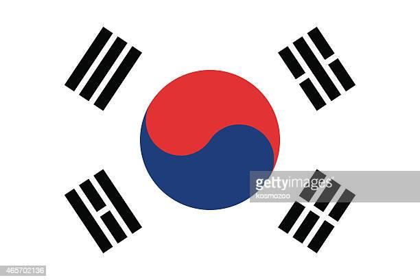 ilustraciones, imágenes clip art, dibujos animados e iconos de stock de bandera de corea del sur - cultura coreana