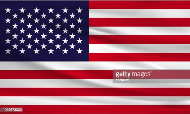 usa-flagge - usa stock-grafiken, -clipart, -cartoons und -symbole