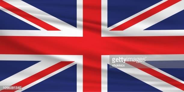 uk flag - british flag stock illustrations