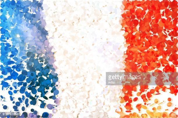 illustrations, cliparts, dessins animés et icônes de drapeau - drapeau français