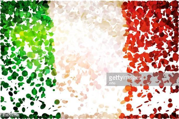 ilustrações, clipart, desenhos animados e ícones de bandeira - itália