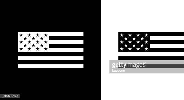 usa flag. - flag stock illustrations