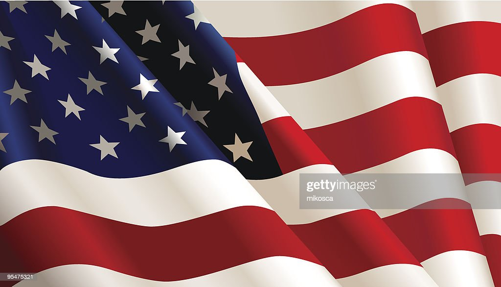 USA flag.