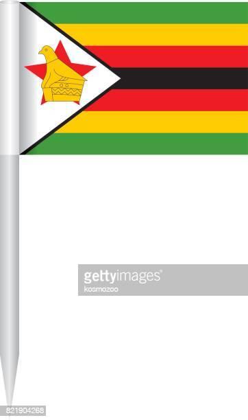 Flag Zimbabwe