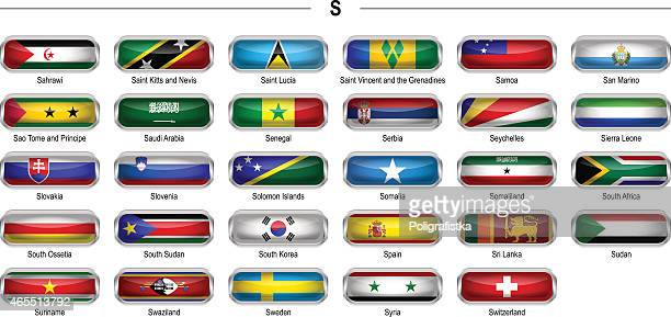 """flags icon - """"s"""" - senegal stock illustrations, clip art, cartoons, & icons"""